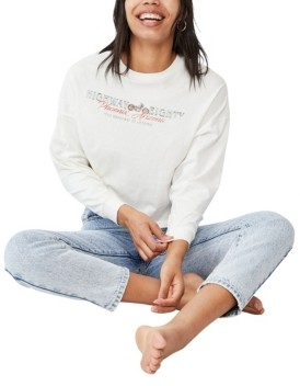 Cotton On Women's Bree Graphic Long Sleeve T-Shirt