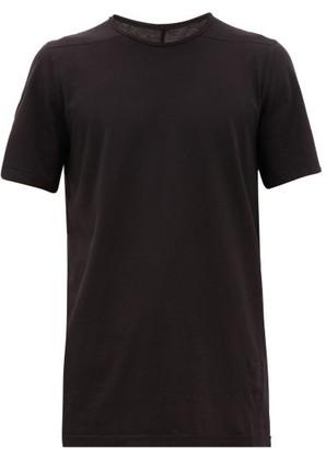 Rick Owens Level Longline Cotton T-shirt - Black