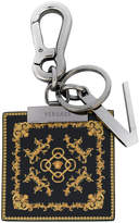 Versace scarf keyring