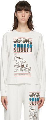 Marc Jacobs Off-White Peanuts Edition French Terry Sweatshirt