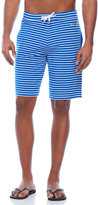 Moschino Blue Striped Swim Shorts