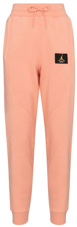 Thumbnail for your product : Nike Jordan Flight cotton-blend sweatpants