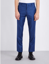 Paul Smith Slim-fit tapered wool trousers