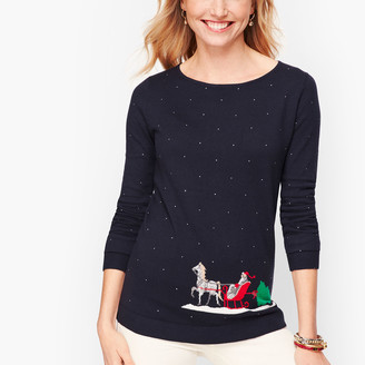 Talbots Sleigh Ride Sweater