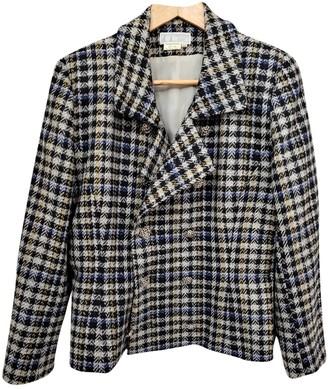 Emmanuelle Khanh Grey Wool Jacket for Women