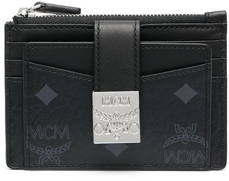 MCM mini Patricia zip cardholder