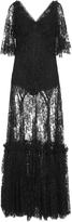 Dolce & Gabbana Flutter Sleeve Gown