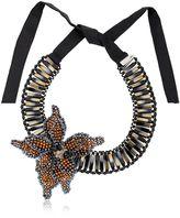 Nightmarket Flower Bronze Necklace