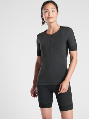 Athleta Velo Cycle Jersey