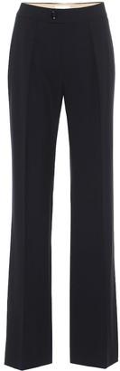 Chloé Stretch-wool straight pants