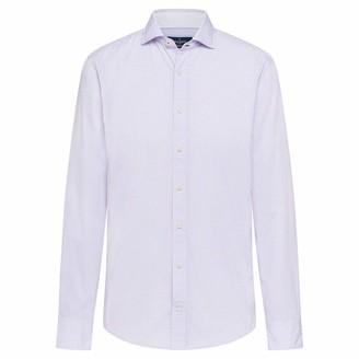 Hackett Men's H Print Business Shirt