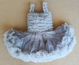 Ladouby Baby & Little Girls' Solid Color Dance Tutu Pettiskirt girls lace tutu skirts
