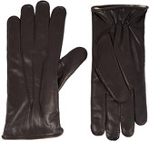 Barneys New York Men's Fur-Lined Gloves-DARK BROWN