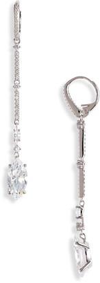 Nadri Bridal Linear Cubic Zirconia Earrings