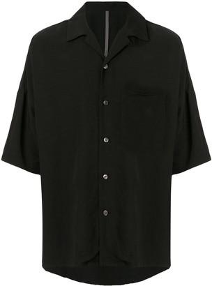 Kazuyuki Kumagai Cuban Collar Shirt