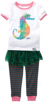 Intimo Eric Carle Sea Horse Tutu Pajama Set (Baby Girls)