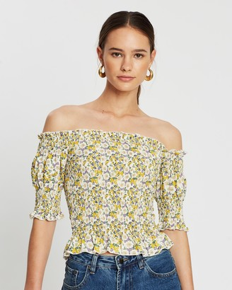 Atmos & Here Dolly Off-The-Shoulder Top
