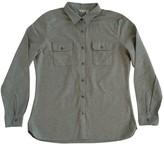 Woolrich Grey Cotton Top for Women