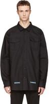 Off-White Black Brushed Arrows Shirt