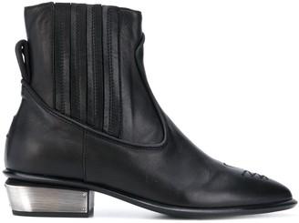 Kate Cate steel heel Western boots