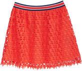 Tommy Hilfiger Star Crochet Lace Skirt, Big Girls