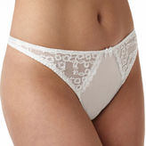 Va Bien Va BienSatin and Lace Thong Panties - 76134