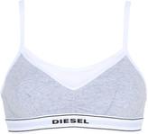 Diesel Cotton Jersey Bra