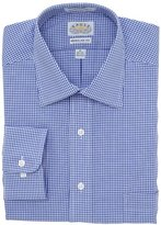 Eagle Men's Regular-Fit Non-Iron Gingham Dress Shirt
