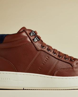 Ted Baker Leather Trainer Boots