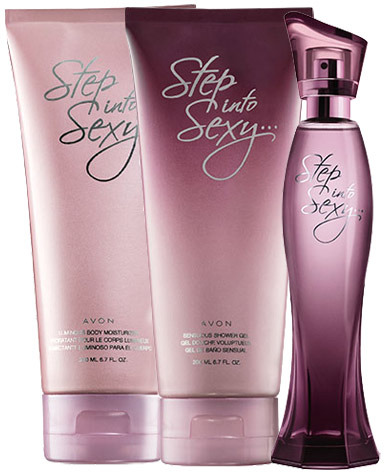 Avon Step Into Sexy 3-Piece Fragrance Collection