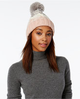 Rampage Colorblock Beanie, Only at Macy's