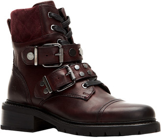 Frye Samantha Leather Hiker Boot