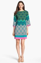 Eliza J Print Jersey Shift Dress