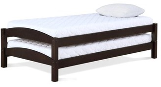Better Homes & Gardens Better Homes and Gardens Leighton Stackable Beds, Twin Size Frame, Set of 2, Espresso