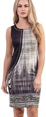 M&Co Izabel mono abstract dress