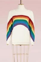 Marc Jacobs Long Sleeve Crewneck Rainbow Sweater