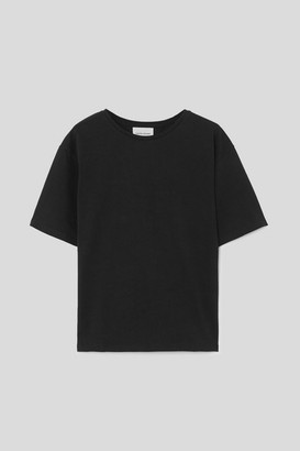 LOULOU STUDIO Lipari Oversized Cotton-jersey T-shirt - Black