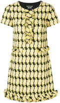 Moschino shortsleeved tweed dress