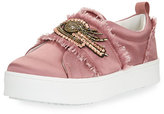 Sam Edelman Levine 2 Satin Platform Slip-On Sneaker
