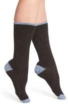 Lemon 'Falling Leaves' Tweed Boot Socks