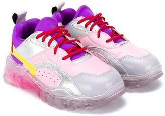 Stella McCartney Kids Low-Top Panelled Sneakers