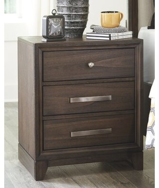 Foundry Select Fairmount 3 Drawer Nightstand