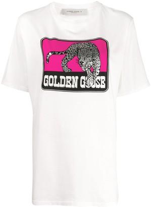 Golden Goose tiger graphic print T-shirt
