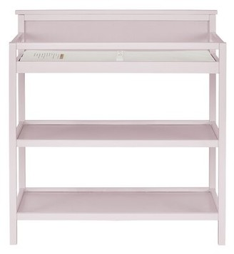 Harriet Bee Dossett Changing Table with Pad Color: Cherry