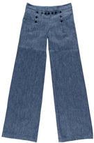 Nili Lotan Wide-Leg Sailor Jeans w/ Tags