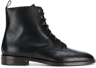 Michel Vivien Glasgow lace-up boots