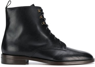 Michel Vivien Glasgow lace-up boots