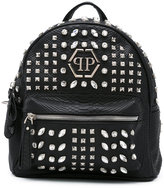 Philipp Plein 'Again' studded backpack - women - Polyester/Polyurethane/PVC - One Size