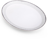 Mikasa Avery Chevron Oval Platter