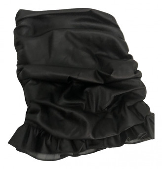 Orseund Iris Black Synthetic Skirts